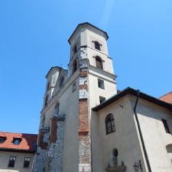 krakow sightseeing - tyniec Monastery Courtyard