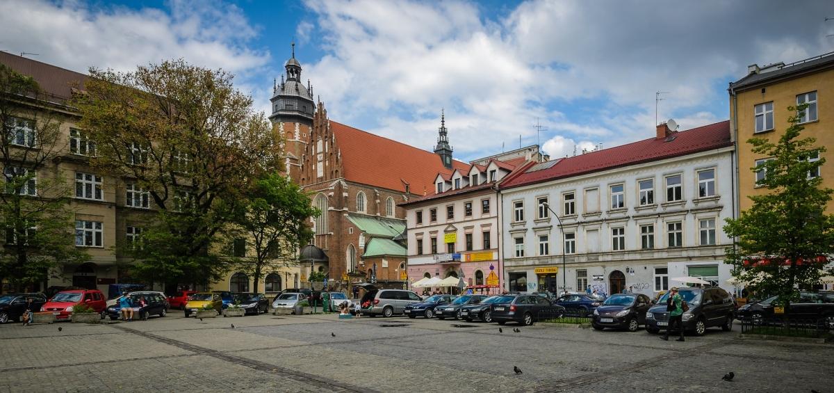 Zwiedzanie krakowskiego kazimierza