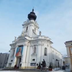 Die Basilika der Opferung der Heiligsten Jungfrau Maria in Wadowice