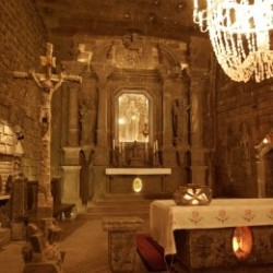Zwiedzanie Wieliczki - Kaplica Św. Kingi