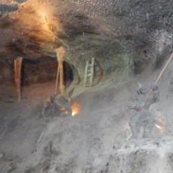 Zwiedzanie Kopalni Wieliczka - Komora Spalone
