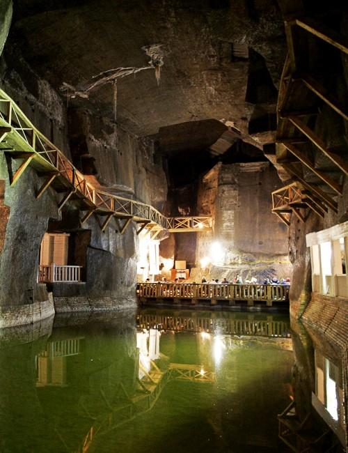 Das Salzbergwerk Wieliczka