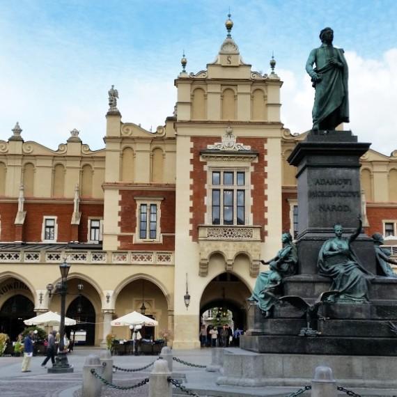 Krakow Cloth Hall sightseeing