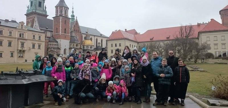 Wycieszka szkolna do Krakowa