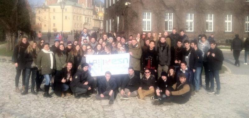 Erazmus - zwiedzanie Krakowa