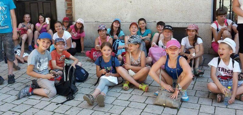 Grupka szkolna w Krakowie