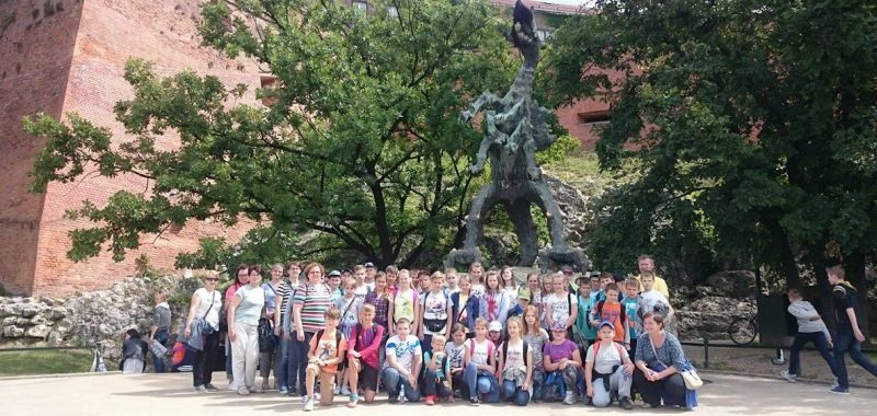 Wycieczka szkolna po Krakowie