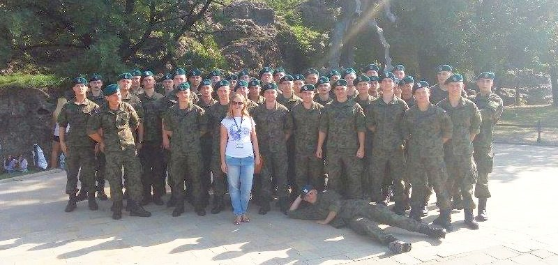Żołnierze w Krakowie