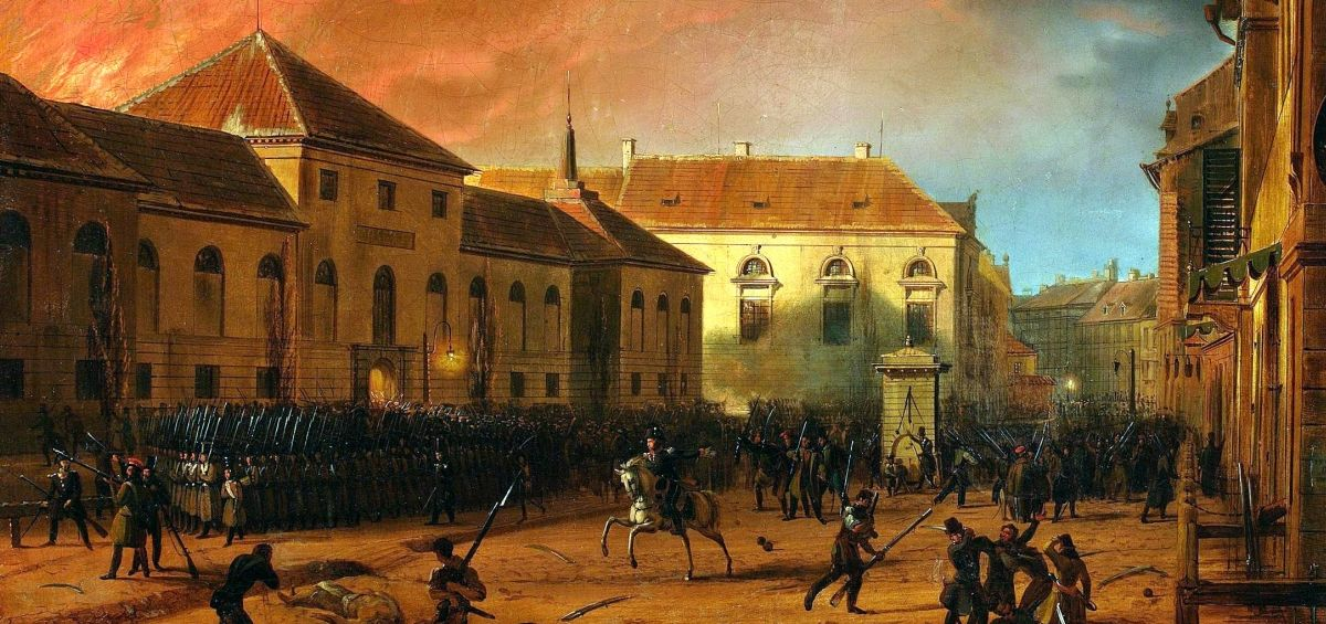 powstanie listopadowe a Kraków