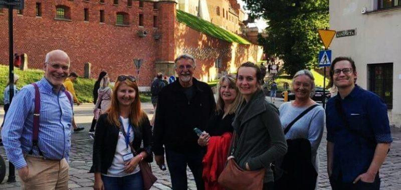 amerykanie w Krakowie