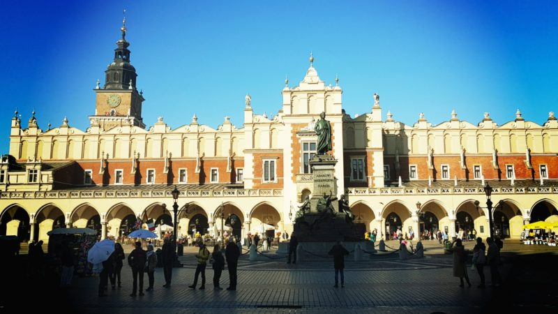 Jesień - krakowski Rynek
