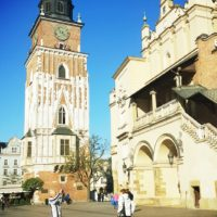Kraków jesienny