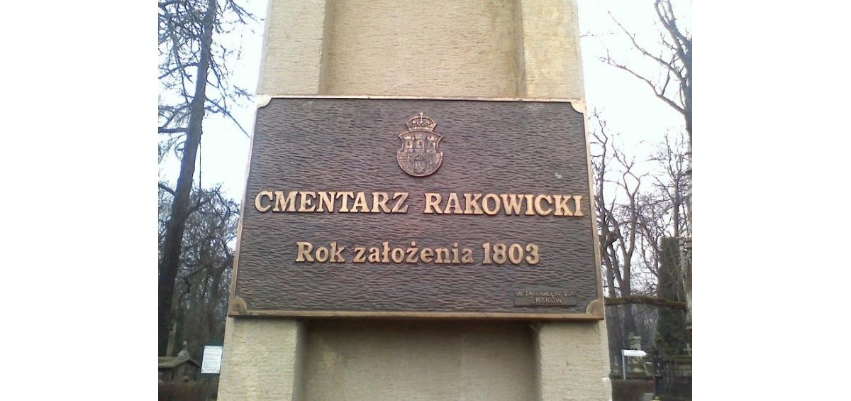 cmentarz rakowicki kraków