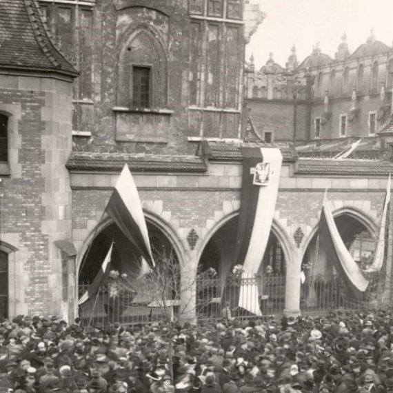 Szlak Wolności 1918 roku w Krakowie