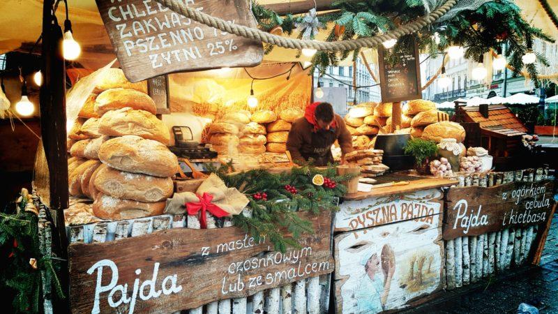 Targi świąteczne Kraków - piekarnia