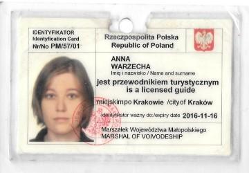 anna warzecha licencja